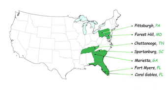 Responsive Answering Service US Locations